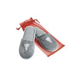 cadouri-craciun-papuci-de-velour-cu-design-de-craciun